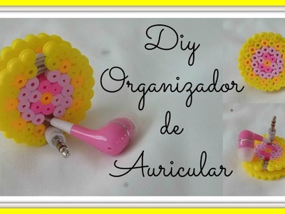 Diy Organizador de Auricular.Diy Earphone Holder