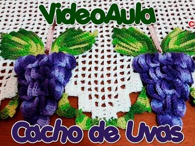Cacho de Uvas em Crochê