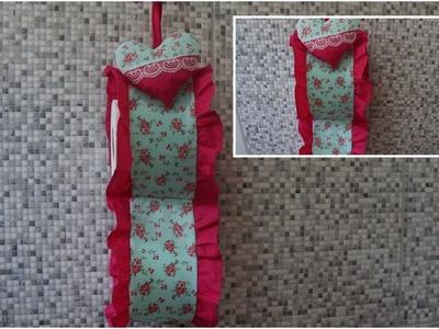 Costura para casa Porta papel higiênico