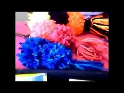 DIY: Como fazer um chaveiro de pompom com fio de lã