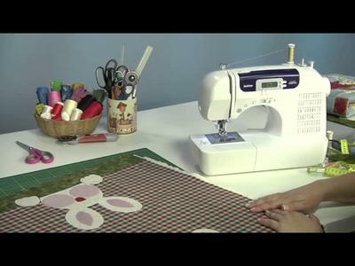 Máquina de Costura Brother CS6000i - Toalha para Café