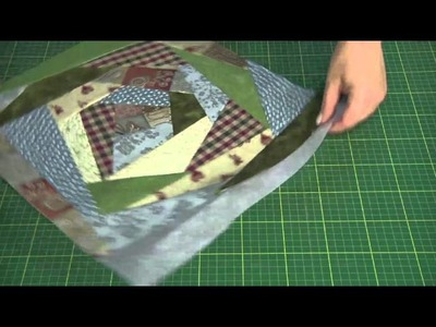 Máquina de Costura Brother SQ9000 - PROJETO: Almofada crazy