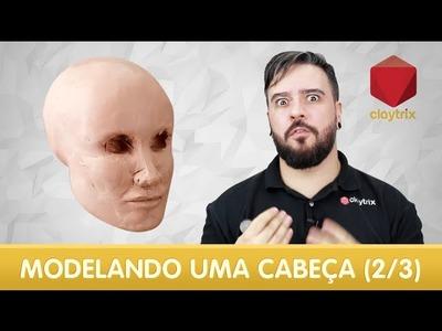 Modelando uma cabeça (2.3) | Claytrix (T02E03)
