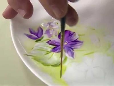 Acrilex - Programa Vida com Arte - Pintura em Porcelana