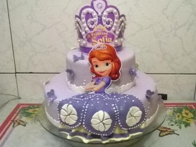 Bolo Princesa Sofia