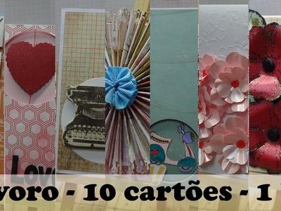 Lavoro - 10 cartões - 1kit #1