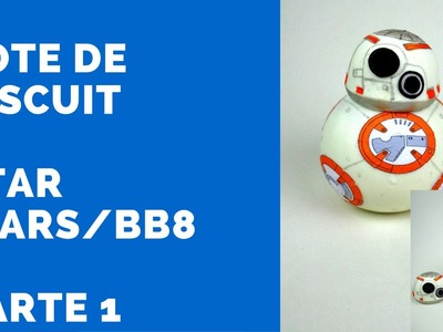 Pote de biscuit do Star Wars.BB8 – Como fazer - Parte 1