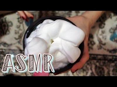 ASMR: Fluffy Slime (sons de misturinhas com espuma para você relaxar e sentir soninho) PORTUGUÊS