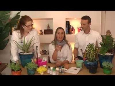 Café com Arte - Pintura Imitação Vietnamita - Episódio 28