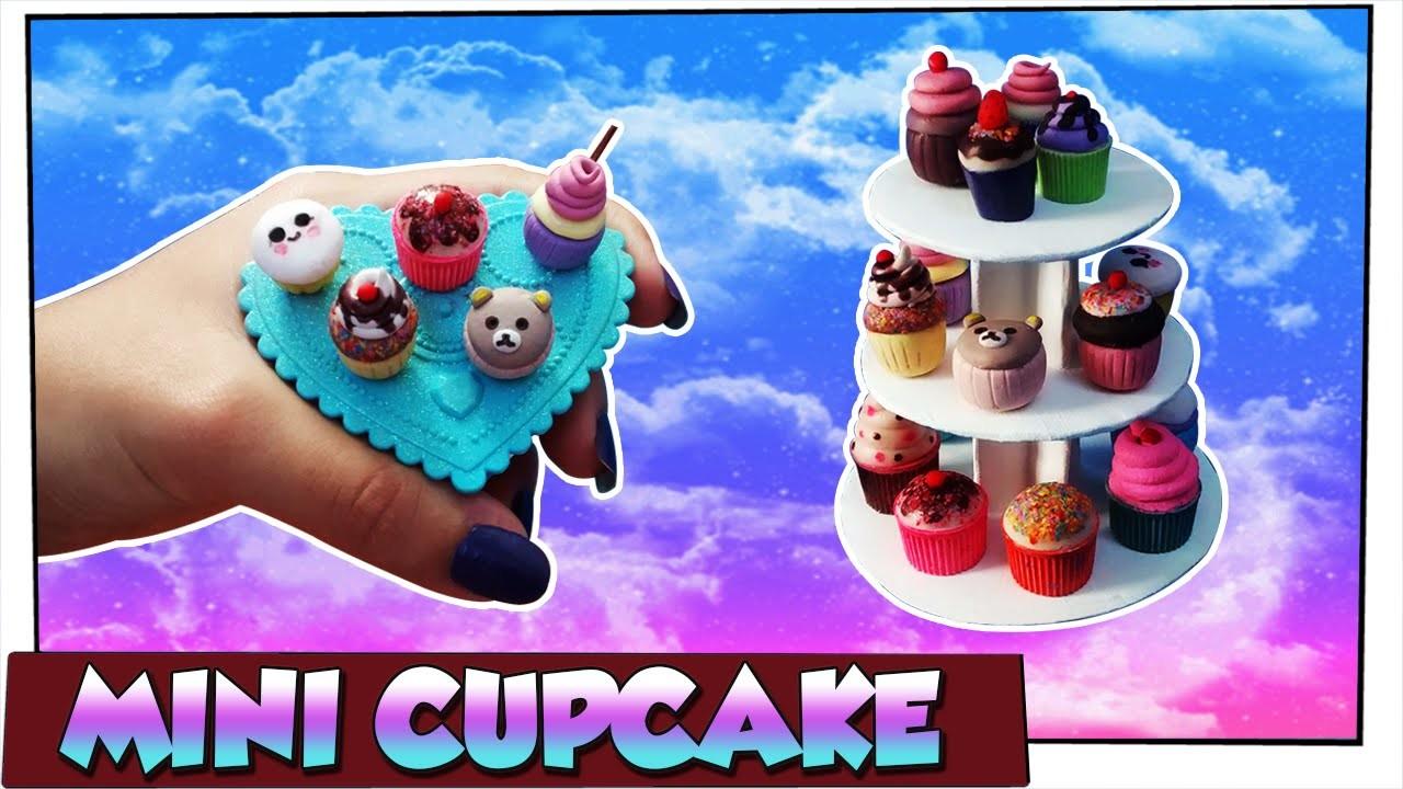 Como fazer: Cupcakes para bonecas Barbie, Baby Alive, Monster High, Ever A. H entre outras!