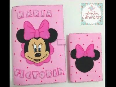 Como fazer Rosto Perfeito da Minnie.Mickey - Caderneta da Minnie Parte 3.