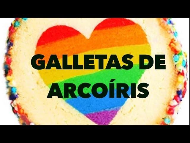 GALLETAS DE ARCOÍRIS. EXPECTATIVA. REALIDAD