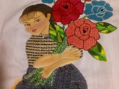 Vendedora de rosas vestido 4 de 4