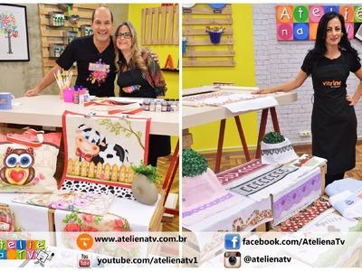 Ateliê na TV - Rede Brasil - 12.08.2016 - Patricia Buoso e Tânia Marino