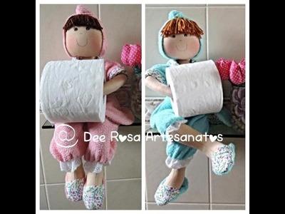 Boneca porta-papel higiênico: PANTUFA