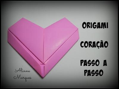 Origami Coração Passo a passo