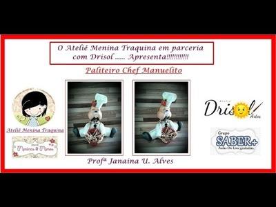 Paliteiro Chef Manuelito video