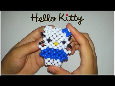 Tutorial - Hello Kitty com miçangas | beads