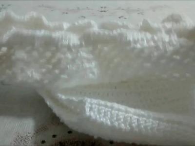 Calcinha de crochê recém-nascido passo a passo