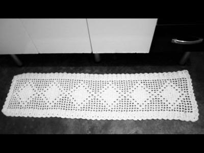 Como fazer tapete para pia de cozinha