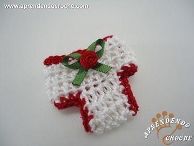 Mini Calcinha em Crochê - Lembrancinha Nascimento