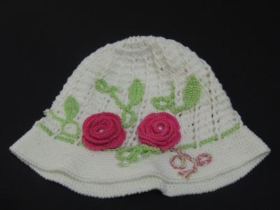 Chapéu de Crochê - Chapéu de Crochê - Parte 2 (Canhotas)