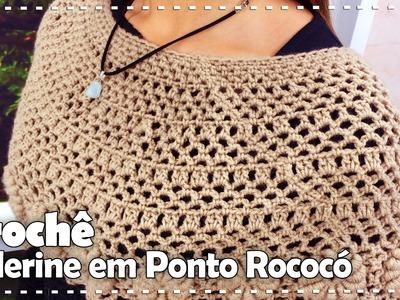 PELERINE COM PONTO ROCOCO com Vilma Maurer - Programa Arte Brasil - 03.08.2016