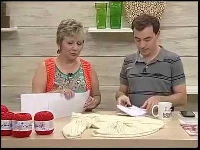 Programa Arte Brasil - Blusa em tricô - Vitória Quintal - Rogério Chiaravalli