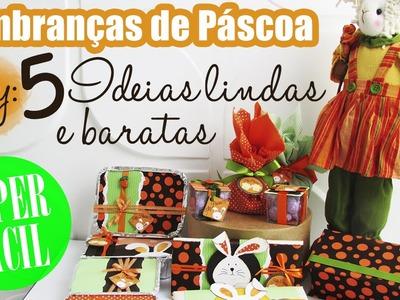 DIY: 5 IDEIAS LINDAS E BARATAS de LEMBRANÇAS DE PÁSCOA - ATELIER DAS ARTES