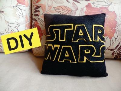 DIY: Almofada Star Wars - Faça você mesmo