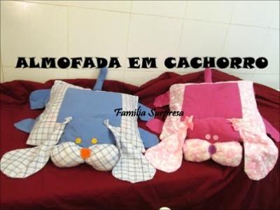 DIY ARTESANATO COMO FAZER ALMOFADA DE CACHORRO