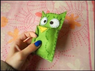 DIY - Capinha de celular em feltro