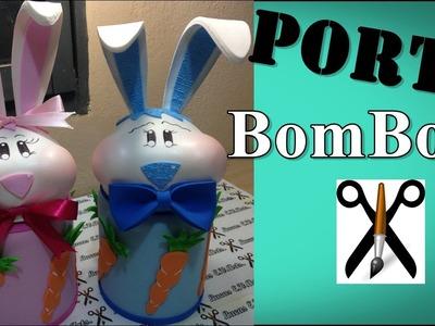 DIY:Como Fazer Porta BomBom Para Páscoa em E.V.A-Lucas E.V.Arts