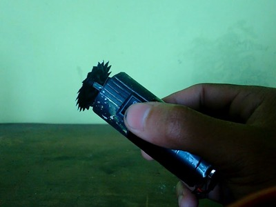 DIY -  mini serra eletrica portatil
