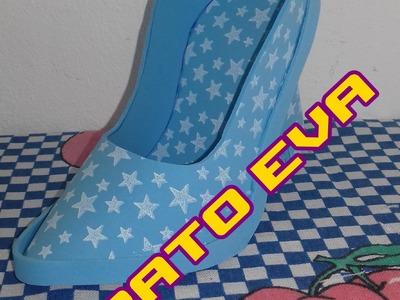 Sapato de EVA - DIY - Passo a passo