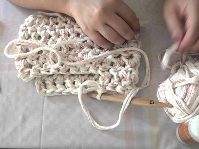 Bolsa de crochê Perola rápida e fácil de fazer