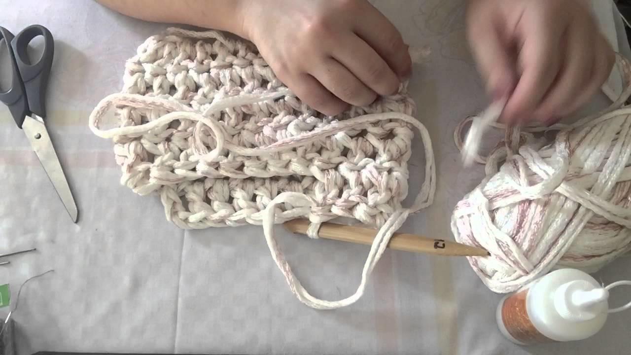 Bolsa De Perola Infantil : Croch? bolsa de perola r?pida e f?cil fazer