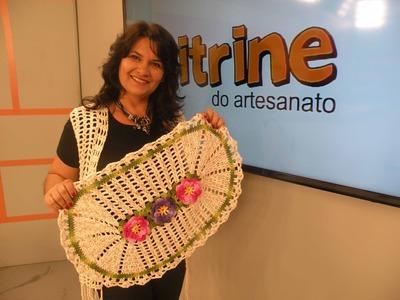 Tapete Prático com Flores com Glaucia Tamiossi | Vitrine do Artesanato na TV