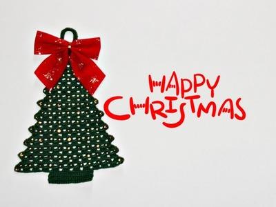 Árvore de Natal em Crochê | Manyélly