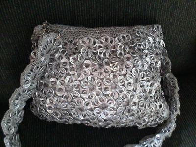 Como fazer bolsa de lacre de latinha - Tutorial completo de reciclagem