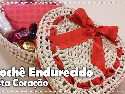 CORAÇÃO EM CROCHÊ ENDURECIDO com Carmem Freire - Programa Arte Brasil - 01.08.2016