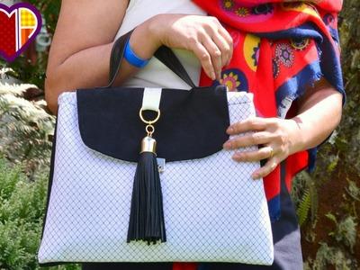 Bolsa de tecido Madlen - Cursos e vendas de bolsas de tecido é no Maria Adna Ateliê