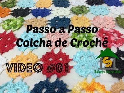 Colcha de Croche Vídeo #01