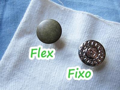 Como colocar botão flex e botão fixo no balancim