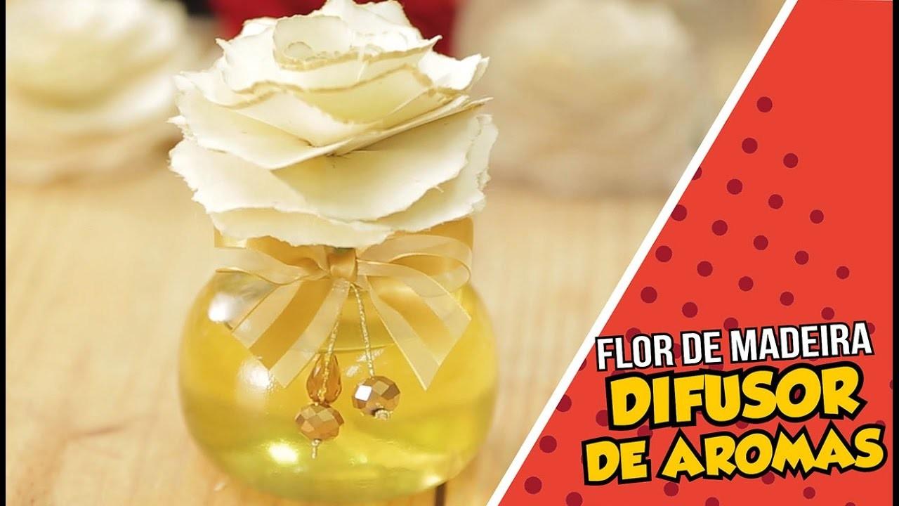 Difusor de Aromas Flor de Madeira Peter Paiva