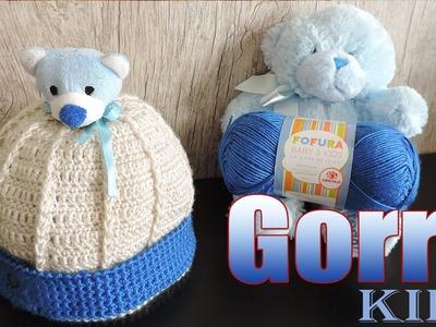 """Gorro Kids Igor  """"Soraia Bogossian"""""""