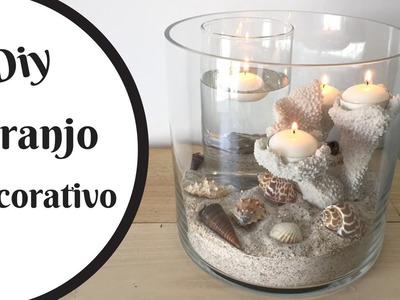 Arranjo decorativo- náutico- centro de mesa | Katherinne Ribeiro