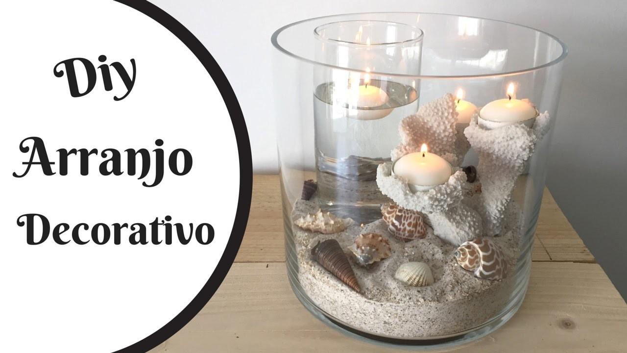 Arranjo decorativo- náutico- centro de mesa   Katherinne Ribeiro
