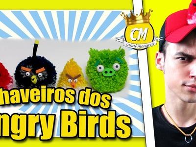 COMO FAZER CHAVEIROS DO ANGRY BIRDS Canal Monarca