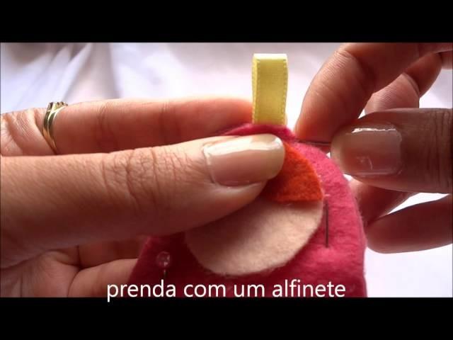 Como fazer um chaveiro de matrioska